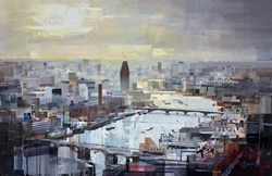 Rooftop Thrills by Tom Butler -  sized 40x26 inches. Available from Whitewall Galleries